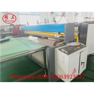 PP PE PC Plastic Hollow Corrugated Plate Making Machine ---Cutting Machine Device