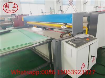PP PE PC Plastic Hollow Corrugated Plate Making Machine ---Cutting Machine Device