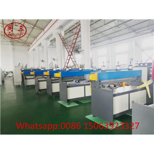 Mexico Customer order PP hollow corrugated sheet making machine