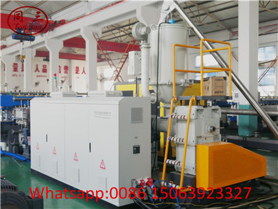 Single screw extruder for the pp hollow sheet making