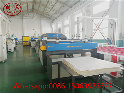 PP hollow corrugated sheet production line