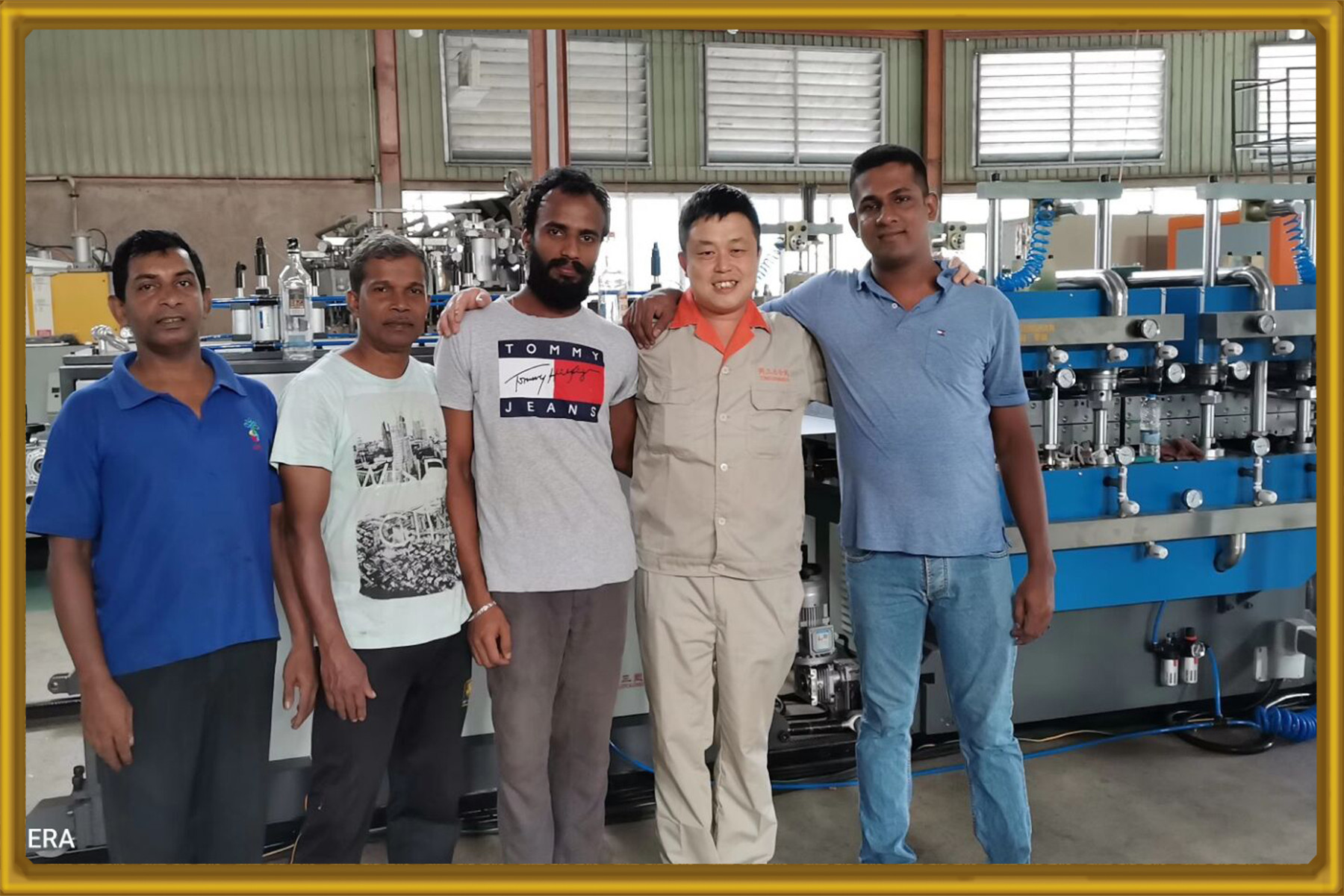 PP  hollow sheet machine Installation and commissioning