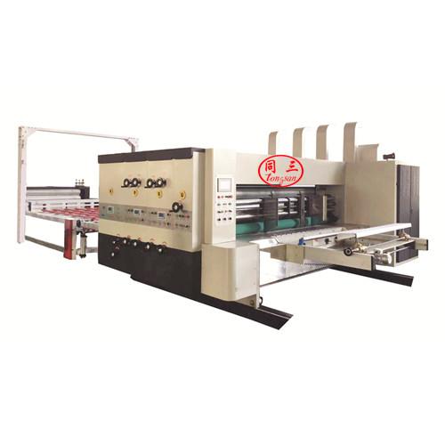 Automatic printing and die cuttting machine