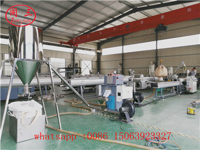 Plastic cold cutting granulating production line