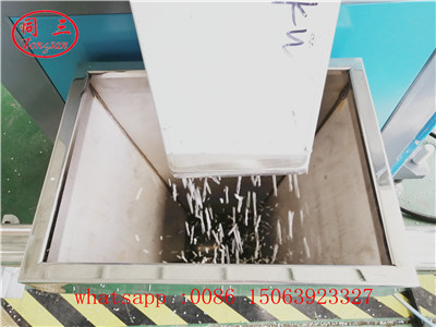 Granules cutting device