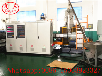 Single screw extruder SJ120 for PP hollow corrugated sheet