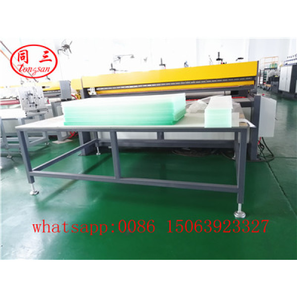 1200mm PP Hollow corrugated box sheet making machine