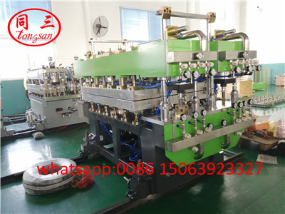 PP hollow sheet mold calibrator plant