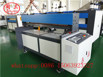 Cutting machine for PP hollow sheet machine: automatic
