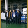 Korean customers visit Tongsan for PP hollow corrugated sheet making machine