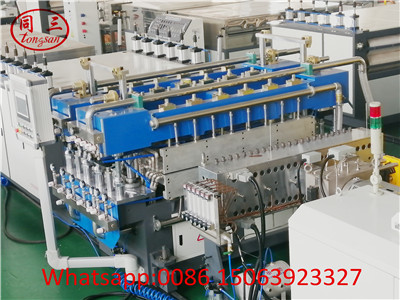 PP hollow sheet machine in Tongsan