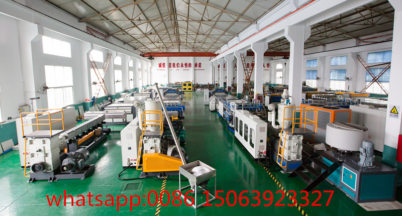Qingdao Tongsan pp hollow sheet  machine workshop