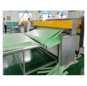 1200mm PP hollow board plastic building template making machine