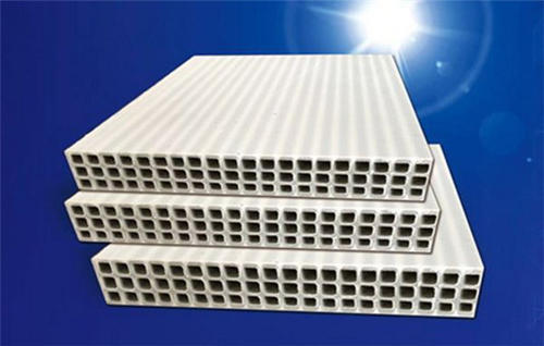 What is the raw material of hollow PP plastic building template?