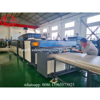 PP twin wall sheet making machine