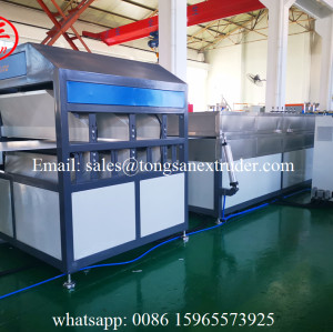 PP plastic hollow board making machine