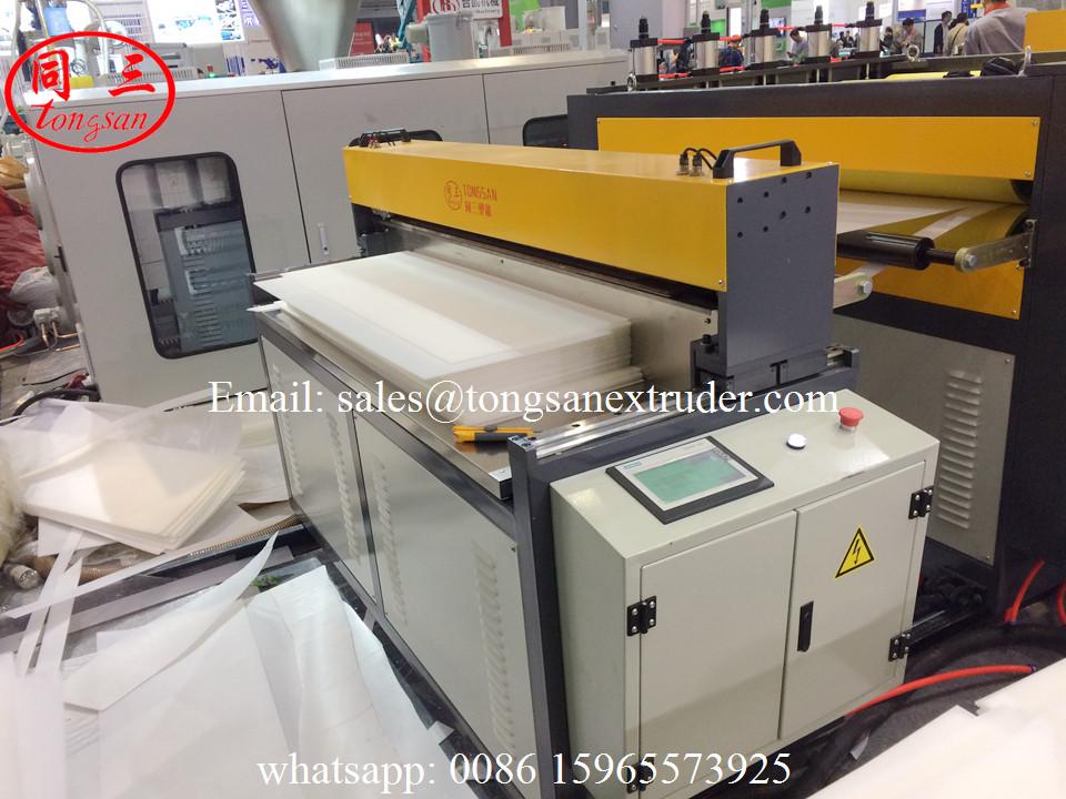 PP plastic hollow board making machine