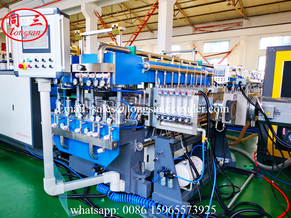 PP twin wall sheet making machine