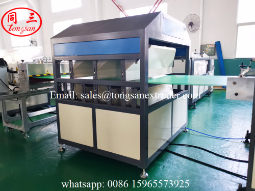 PP hollow sheet extrusion machine