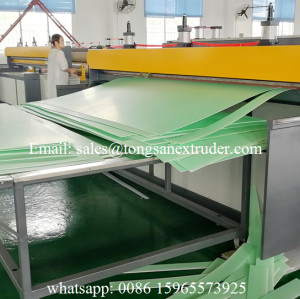 PP corrugated sheet making machine/PP corrugated sheet production line