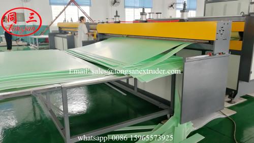 PP corrugated sheet making machine/PP corrugated sheet production line