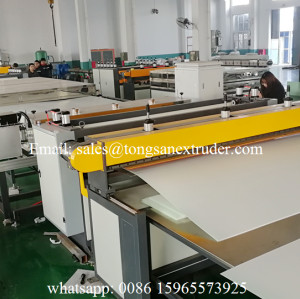 PP PE  hollow corrugated Plastic packing sheet making machine