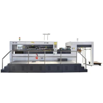 MY-1300 Automatic Flat to Flat die cutting machine for PP hollow sheet