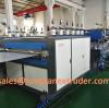 1400 type pp hollow corrugated sheet machine running at 6.5m/min