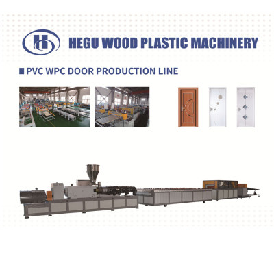 Turnkey project PVC WPC door panel and door frame  making machine price
