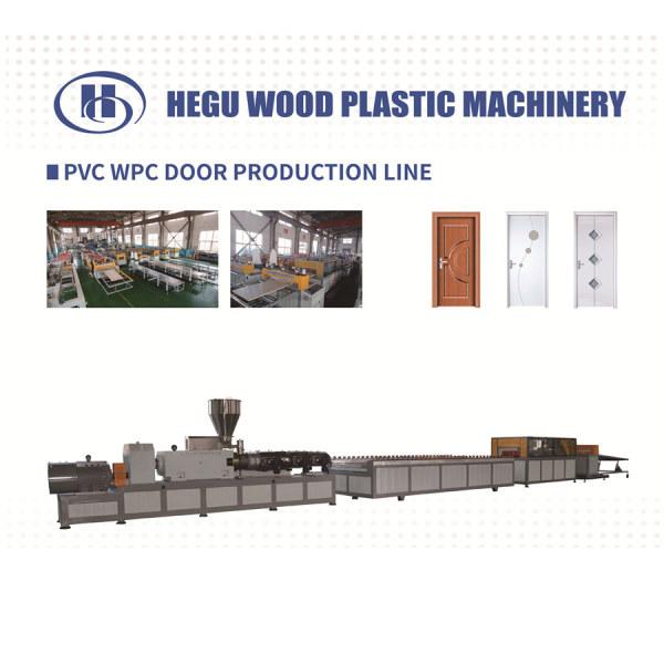 Turnkey project PVC WPC door panel and door frame  making machine price