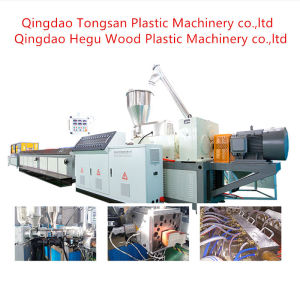Automatic Wood Plastic Composite Extruder WPC Door Frame Making Machine Manufacturer