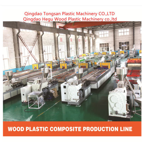 PVC WPC Door Frame Extruder Making Machine for India