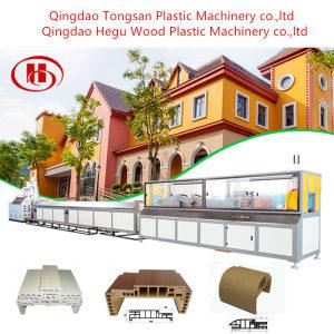 Wood Plastic Composite Extruder PP PE WPC Decking Fence Post Making Machine Manufacturer