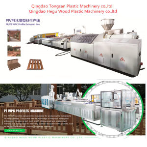 Ultrashield PE WPC Decking Co-extrusion Making Machine Using 70% Wood and 30% Waste Plastic