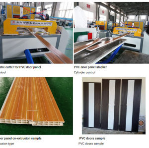 pvc window profile making machine /UPVC Windows and Doors Plastic Profile Machine Manufacturer with Ce