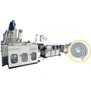 4.5-160mm plastic single wall corrugated pipe making machine