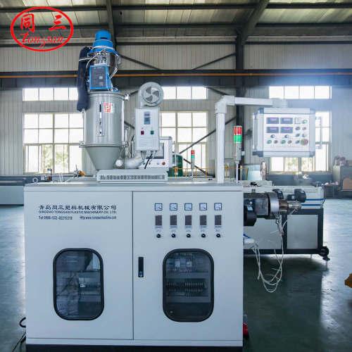 5mm-13mm High Speedf PE PP EVA PVC PA High Speed Single Wall Corrugated Pipe Extrusion Line / Single Wall Pipe Macking Machine From Qingdao Tongsan