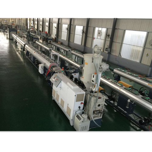 20-110mm SJ70  HDPE PP PPR Plastic pipe extruder making machine