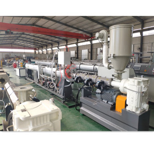 16-63mm SJ65  HDPE PP PPR Plastic pipe extruder making machine