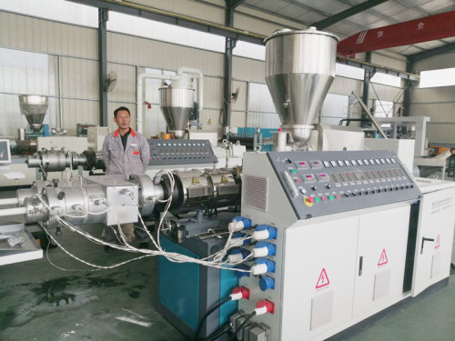 16-63mm SJMS55/125 double cavity PVC/CPVC Pipe Extrusion Line/Pipe Making Line/Pipe Extrusion Line/Production Line Made in China