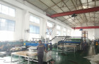 2100mm co-extrusion  automatic PP hollow corrugated sheet making machine  testin for Iran customer