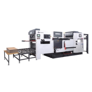 Tongsan automatic die cutting machine for PP corrugated sheet boxes making