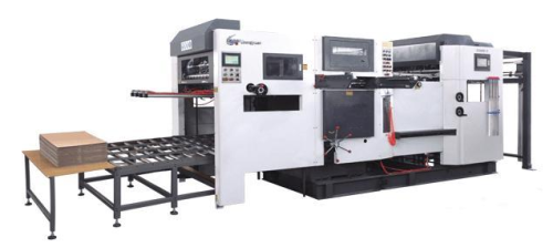 Automatic die cutting machine for PP corrugated sheet boxes making