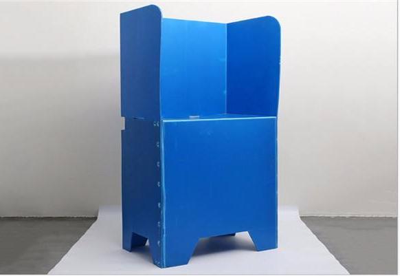 TONGSAN semi-automatic booking machine PP corrugated sheet box making