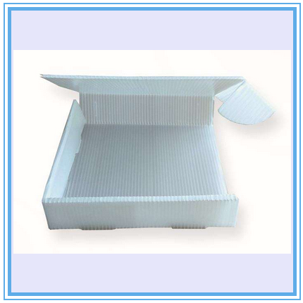 PP hollow corrugated sheet application