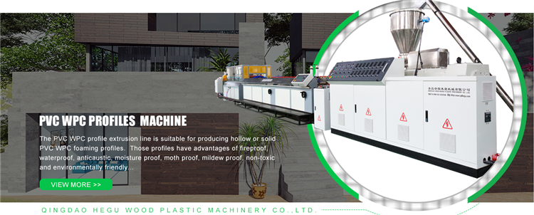 PVC WPC door frame making machine