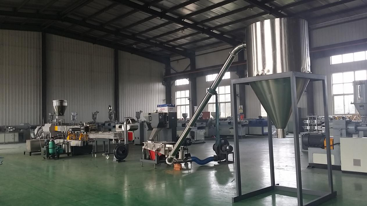 300-400kg/h PP filler masterbatch making machine
