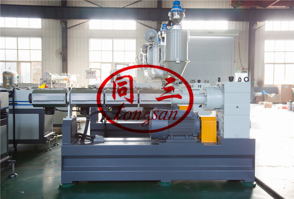 corrugated tube extruder machine