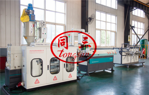 pp corrugated pipe production line machine cost supplier factory
