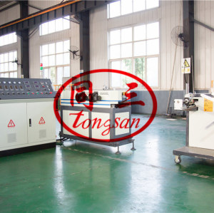 high speed single wall corrugated pipe machine factory manufacturer